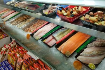 Seafood Display Case